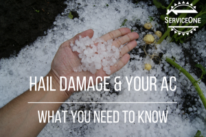 Hail Damage & Your AC - What You Need To Know