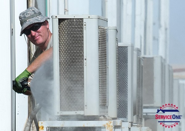 Cleaning Your Air Conditioner Condenser Coils