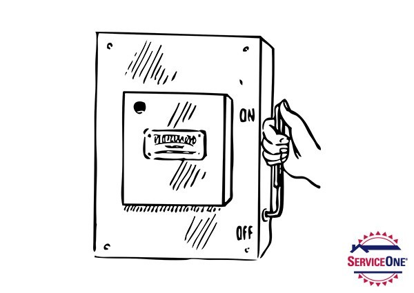 ServiceOne electrical how-to: resetting your circuit breaker