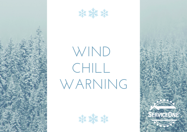 Wind Chill Warning in Eastern Nebraska and Iowa